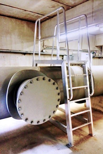 RVS / Aluminium constructie